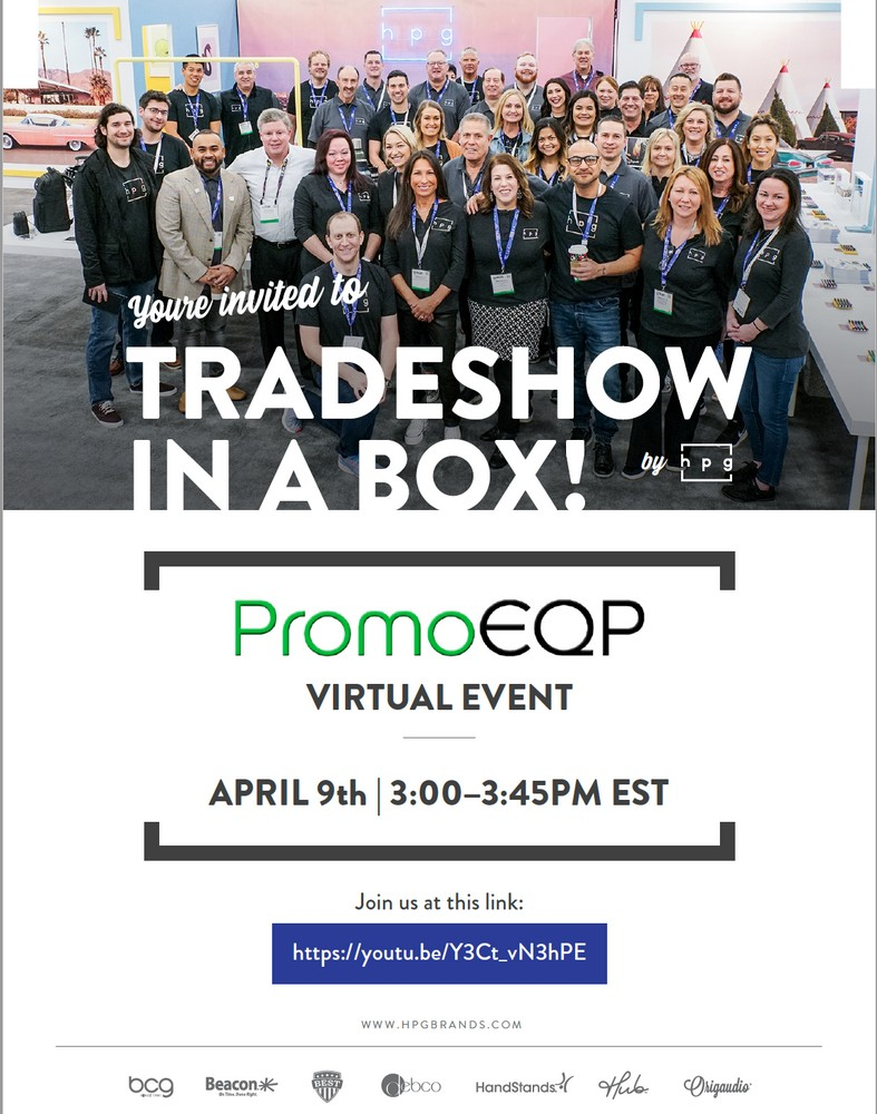 RE-WATCH the HUB Promotional Group Virtual Trade Show NOW